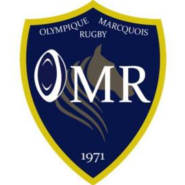 logo olympique marcquois rugby